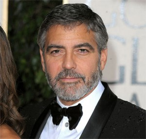 George Clooney Skjegg